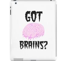Got Brains iPad Case/Skin