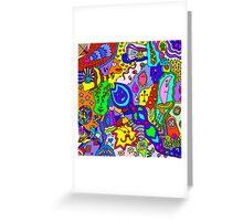 Abstract 24 Greeting Card