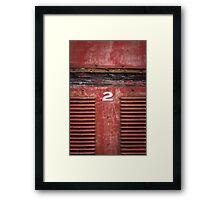 red rattler Framed Print