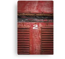 red rattler Canvas Print
