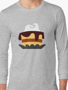 Pastry-Blue Long Sleeve T-Shirt
