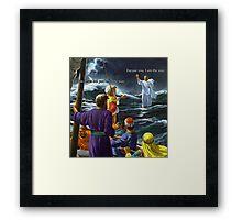 Jesus (Savage) Christ  Framed Print