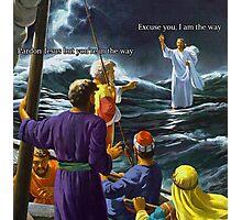 Jesus (Savage) Christ  Photographic Print