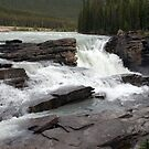 Athabasca Falls by Sean Jansen