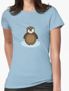Baby Penguin Womens Fitted T-Shirt