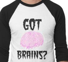 Got Brains Men's Baseball ¾ T-Shirt