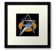 StarTrek Enterprise 1701 09  Command Signia Chest Framed Print