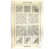 A Handbook Of Ornament With Three Hundred Plates Franz Sales Meyer 1896 0269 Enclosed Ornament Square Panel Poster
