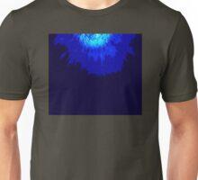 Blue sea urchin explosion Unisex T-Shirt