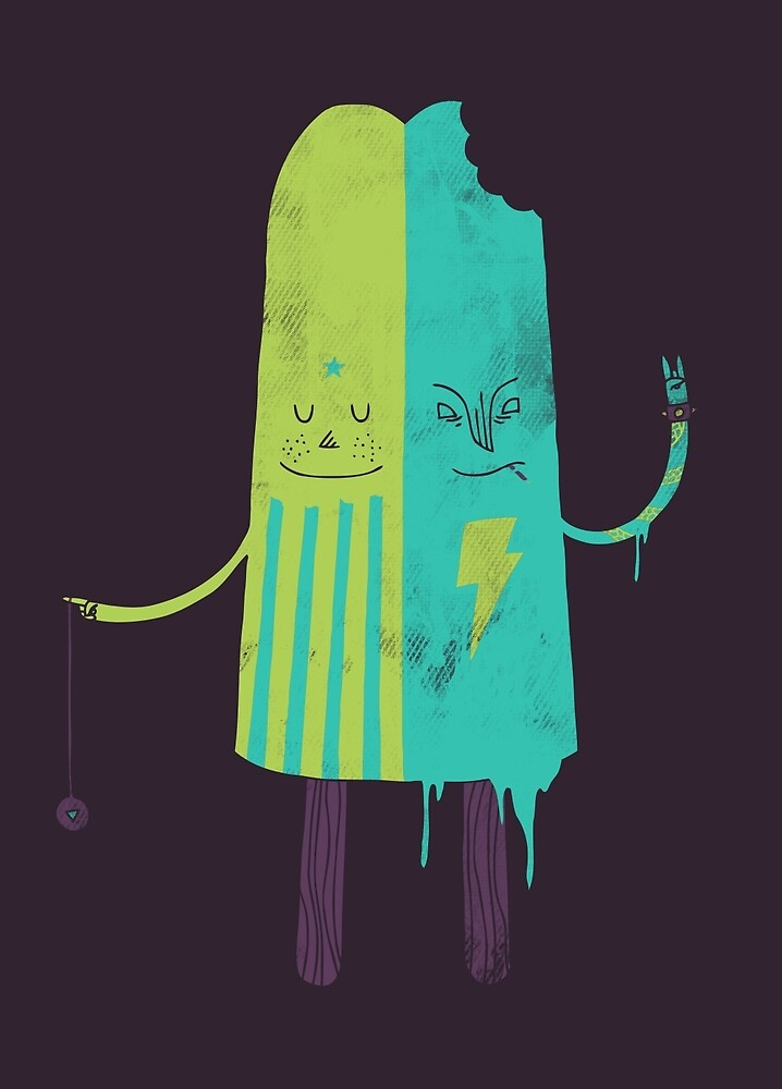 Non-Identical Twins by Hector Mansilla