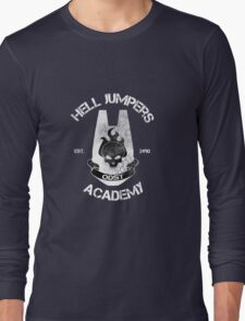 Hell Jumpers Academy Long Sleeve T-Shirt