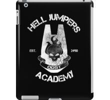 Hell Jumpers Academy iPad Case/Skin
