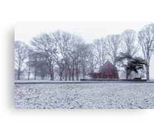 Snow White - Uralla NSW Canvas Print