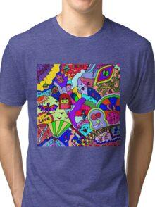 Abstract 26 Tri-blend T-Shirt