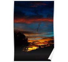 Red Cloud Sunset Poster