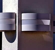 Lamps on a PIllar by Bob Wall