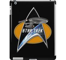 StarTrek Enterprise 1701 Command Signia Chest iPad Case/Skin