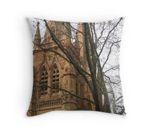 holy/outer Throw Pillow