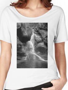 0685 Water Fall  Women's Relaxed Fit T-Shirt