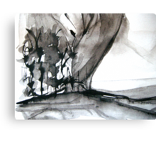 falling leaf #4 Canvas Print
