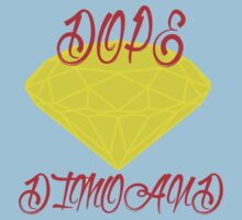 DOPE diamond logo by vinhdesign