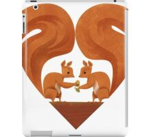 Squirrel Lovers iPad Case/Skin