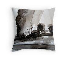 a pass.... to the other side Throw Pillow