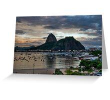 Sugar Loaf, Rio de Janeiro Greeting Card