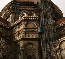Cathedral Santa Maria del Fiore - Construction  by dawshoss