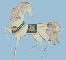 Dancing Horse One Piece - Short Sleeve