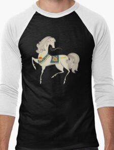 Dancing Horse Men's Baseball ¾ T-Shirt