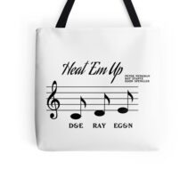 Heat Em Up Sheet Music (Ghostbusters) Tote Bag