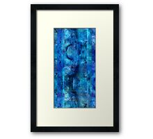 Abstract Composition With Ghosted Trees Framed Print