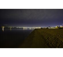 St Kilda Beach, Melbourne Photographic Print