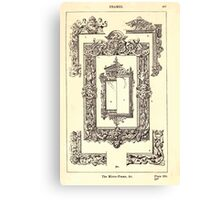 A Handbook Of Ornament With Three Hundred Plates Franz Sales Meyer 1896 0483 Frames Mirror Canvas Print