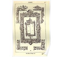A Handbook Of Ornament With Three Hundred Plates Franz Sales Meyer 1896 0483 Frames Mirror Poster