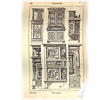 A Handbook Of Ornament With Three Hundred Plates Franz Sales Meyer 1896 0462 Furniture Cabinet Poster