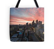 Sunrise on La Trobe Tote Bag