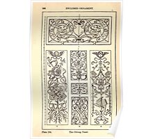 A Handbook Of Ornament With Three Hundred Plates Franz Sales Meyer 1896 0282 Enclosed Ornament Oblong Panel Poster