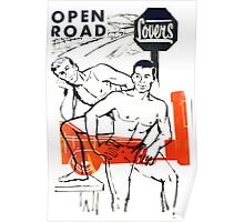 Open Road Lovers Poster