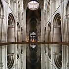 Mirror Image, Ely Cathedral by John Dalkin