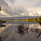 Coastal Reflections - Mossy Point NSW by Malcolm Katon