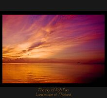 The sky of Koh Tao by Rémi Bridot