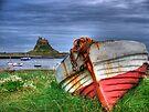 The Castle & The Boat by Ryan Davison Crisp