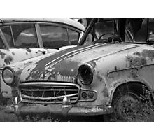 Name's Rusty | old car yard, Sthn NSW Photographic Print