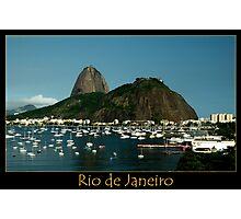 Rio de Janeiro, Sugar Loaf Photographic Print