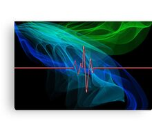 Electric Vibe Canvas Print