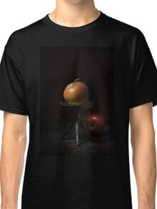 Apples in dark light Classic T-Shirt