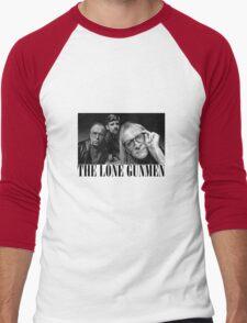 The Lone Gunmen (X-Files) Grunge Style Shirt Men's Baseball ¾ T-Shirt
