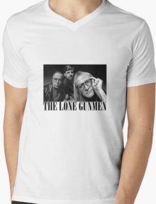 The Lone Gunmen (X-Files) Grunge Style Shirt Mens V-Neck T-Shirt